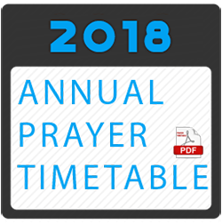 Hayes Muslim Centre Annual Prayer Timings