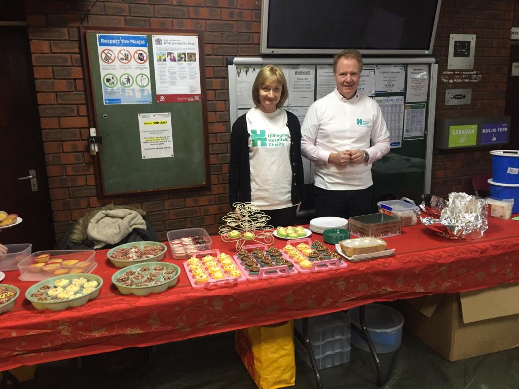 Fundraising for Hillingdon Hospital Charity