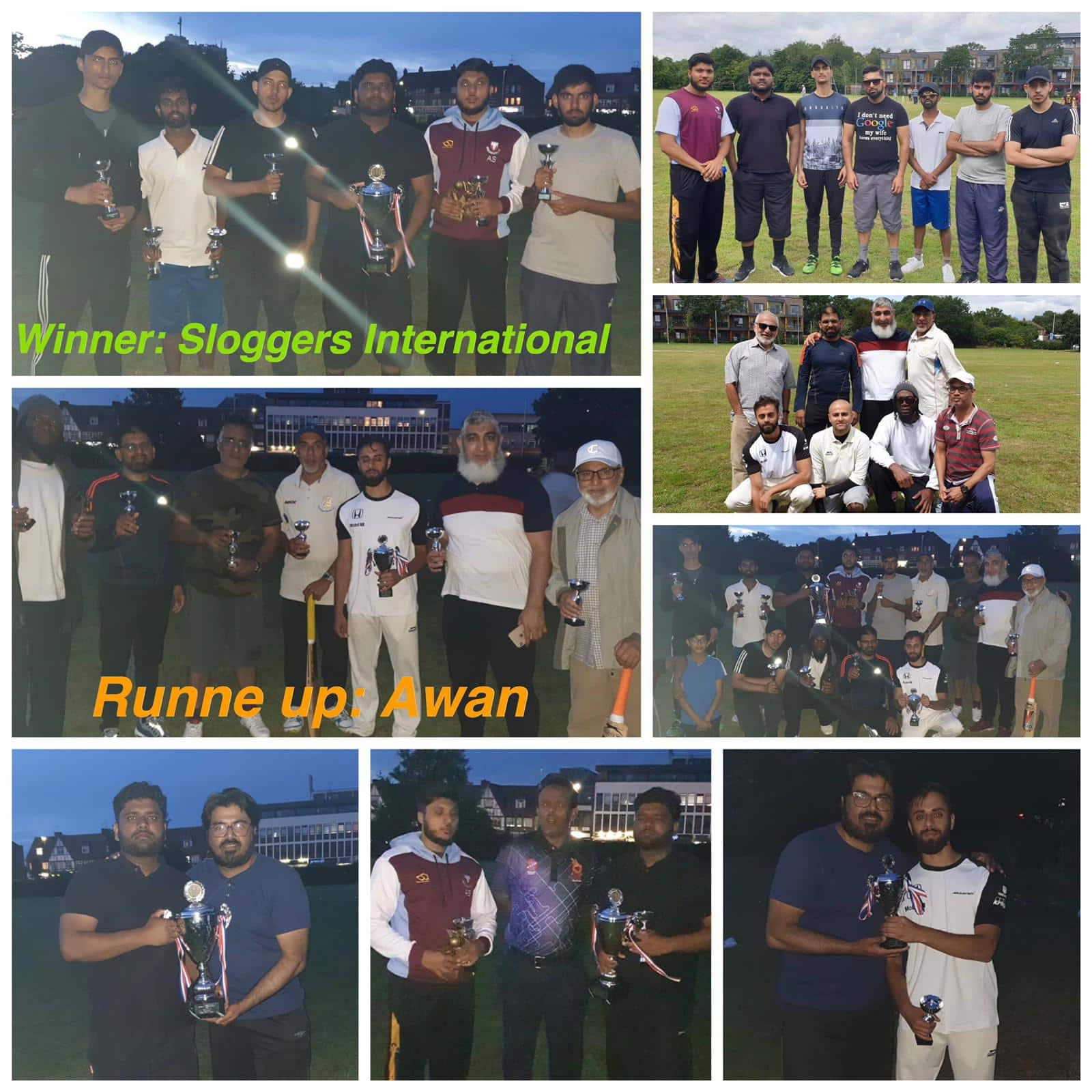 21 Jul 19 – Celebrating England World Cup Win – Inaugural 7 A Side Cricket Tournament